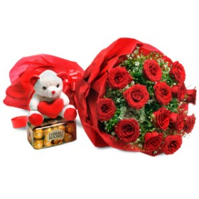 Red Rose Combo