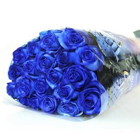 Mysterious Blue Roses Bouquet
