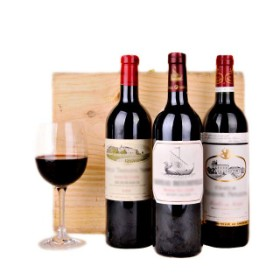 3 Bottles Selection of Red wine