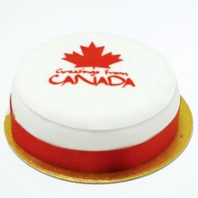 Canadian Greetings Cake