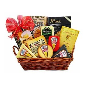 Large Gourmet Cheese Basket