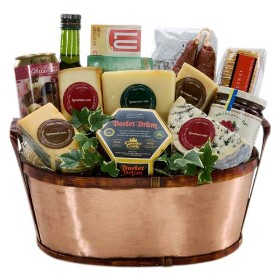 Huge Gourmet Cheese Basket