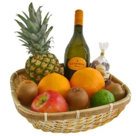 Healthy and Fruity Gift Basket