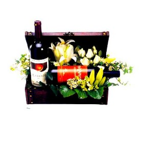 Bedazzling Wine Gift